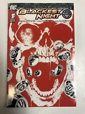 Blackest Night (2009) # 1 (NM) Sketch variant Diamond Red Cover RRP Reis