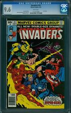 INVADERS #41 CGC 9.6, White Pages, Last Issue