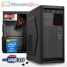 PC Computer Desktop Intel i7 7700K 4,20 Ghz - Ram 32 GB 2400 Mhz - SSD 480 GB
