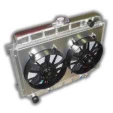 "THE BEST Mopar 26"" BIG BLOCK Aluminum Radiator 1967 - 1974 Mopars - DUAL FANS!"