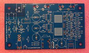 DIY PCB only - NuHybrid Headphone Amp using the Korg Nutube 6P1