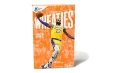 LEBRON JAMES -Wheaties Cereal Box - 15.6oz. SOLD OUT- ON HAND NOT PREORDER🔥🔥🔥