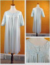 Darling Baby Blue 1950s Vintage Vanity Fair Peignoir Waltz Robe - Sz 34 - Usa