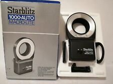 Star blitz 1000 electronic ring flash for close up and macro camera photography