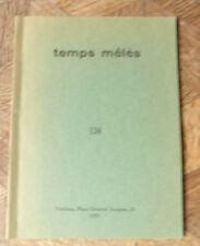 IRINE QUENEAU .... 134  TEMPS MELES 1975