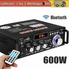 600W FM HiFi Stereo Verstärker Bluetooth Digital Power Amplifier LCD Verstärker