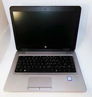 "HP ProBook 640 G2 14"" i5-6300u 2.4GHz 8GB RAM 250GB SSD Windows 10 Pro"