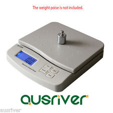 Premium White 25kg/1g Digital Kitchen Scale Commercial Electronic Postal Scales