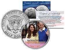 PRINCESS CHARLOTTE of Cambridge 2015 JFK Half Dollar US Coin Prince William Kate