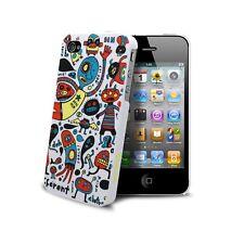 Coque ® Doodle monstres Pour iPhone 4S/4