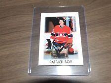 1986-87 OPC Hockey Leaders Mini # 36 patrick roy