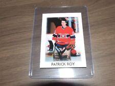 1987-88 OPC Hockey Leaders Mini # 36 patrick roy