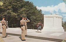 """*Virginia Postcard-""""Tomb of The Unknown Soldier"""" /WWI & WWII & Korean Wars/"""