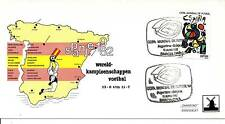 WK Voetbal 1982 - Spaanse zegel op Philato FDC - Blanco / Open klep