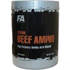 FA Fitness Authority Xtreme Beef Amino 600 Tabl. Rindfleisch Aminosäuren 750g
