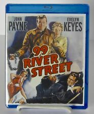 99 River Street Blu-Ray Disc, Classic Film Noir Phil Karlson, John Payne