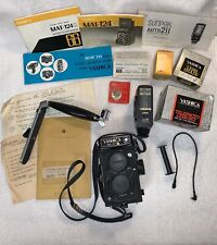 Yashica Mat-124 G Vintage Camera With Many Other Items All In Great Condition