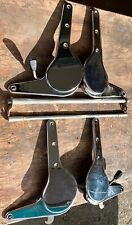 PORSCHE 911 912 ORIGINAL SEAT HINGES FOR BOTH SEATS SWB W/CROSSBARS 1965-1968