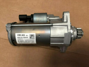 BRAND NEW ORIGINAL GENUINE STARTER MOTOR VW GOLF R MK7 DSG  02E911024M