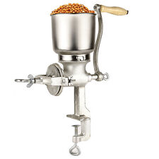 Corn Wheat Grinder Cast Iron Big Hopper Grain Manual Grinder Home Commercial New
