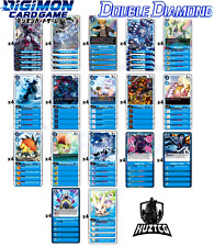 More details for double diamond bt6 blue + gabumon bond of friendship full deck/playset - digimon