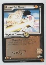 2002 Dragonball Z TCG: World Games Booster Pack Base #23 Orange Gut Wrench 0a1