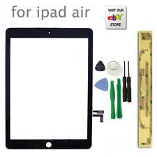 Fit For iPad Air iPad 5 Gen Touch Screen Digitizer Front Glass Black Replacement