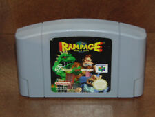 Rampage World Tour Nintendo 64 N64 / Version Pal. FRA. / Jeu en Loose