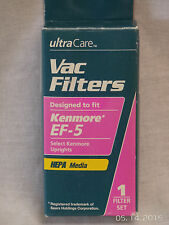 Ultra Care Vac Filter Kenmore Ef - 5 Hepa Filter Upright Vacuums New In Box