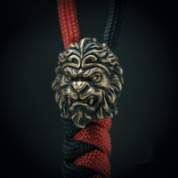 EDC The Monkey King Knife Pendant Paracord Outdoor Beads DIY Decorations Gear