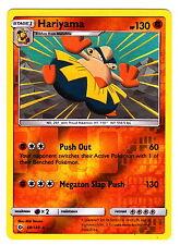 Hariyama 68/149 REVERSE HOLO Pokemon TCG Sun & Moon Single Card
