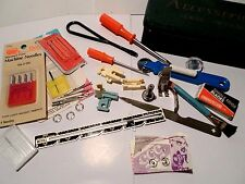 Vintage Sewing Machine Attachments, Metal Box