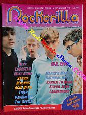 rivista ROCKERILLA 197/1997 Blur Marilyn Manson Spooky Sophia Seeds Reef No cd