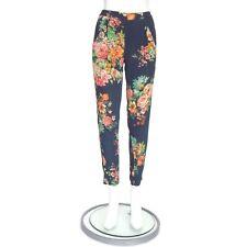 ZARA Fabulous Floral Pants XS Colorful Boho Hippie Breezy Lightweight - 574