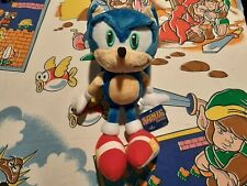 RARE 2007 OFFICIAL Sanei Sonic the Hedgehog M Plush SEGA Toy Figure Japan Import