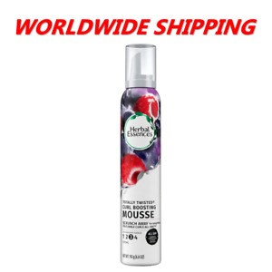 Herbal Essences Totally Twisted Curl-Boosting Mousse 6.8 Oz WORLDWIDE SHIPPING