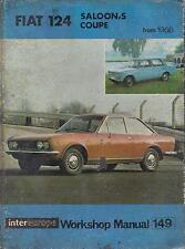 FIAT 124 Coupe & Spider 1400 1600 1800 (1967 - 1972) Manuale Officina Proprietari