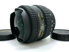 Tokina AT-X 107 10-17mm f/3.5-4.5 DX AF Fisheye Lens For Nikon JAPAN [TOP MINT]