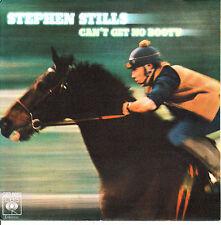 """7"""" STEPHEN STILLS can't get no booty 45 SPANISH 1978 lowdown"""