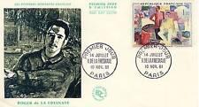 PREMIER JOUR TABLEAU ROGER DE LA FRESNAYE 14 JUILLET 1961 COTE 60 € PARIS