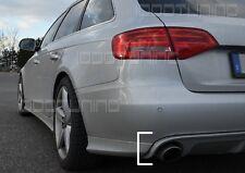 Audi A4 8K B8 Diffusor Tuning Heckdiffusor Limo und Avant (Einfachendrohr l+r)