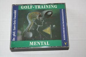 CD Golf Training Mental  Kurshandbuch und Trainingsanleitung   3 CDs