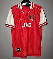 ARSENAL LONDON 1996 1997 1998 HOME FOOTBALL SHIRT JERSEY NIKE VINTAGE BOYS L