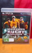 Wallabies Rugby Challenge - Sony PS3 PAL - Manual Included