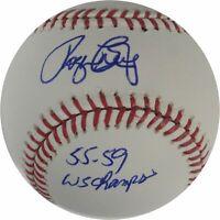 Roger Craig Hand Signed Autographed Major League Baseball  Dodgers 55-59 Champs