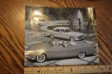 "1950s photo Automotive CAR Chrysler New Yorker Windsor Convertible 1956 8""x10"""