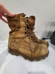 Bates USMC (Marine Corps) Temperate Weather Combat Boot size 9.5 Broken In