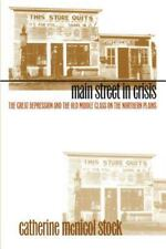 Main Street in Crisis  The Great Depression and the Old Middle Class