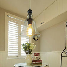 Glass Pendant Light Kitchen Chandelier Lighting Bar Lamp Modern Ceiling Light