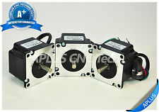 3 PCS NEMA 23 Stepper Motor, 77.8oz-in 41mm 2.0A, 1.8degree, 4wires